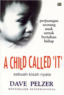 a child called it novel The book entitled a child called 'it' is based on a true story written by a man namely dave pelzer, the author of the book himself the book is the first edition however, it is published by the orion publishing group in 1995.